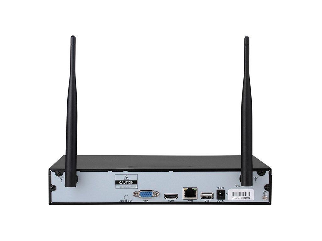 Securia Pro WIFI set 1MPx WIFI8CHV1-W
