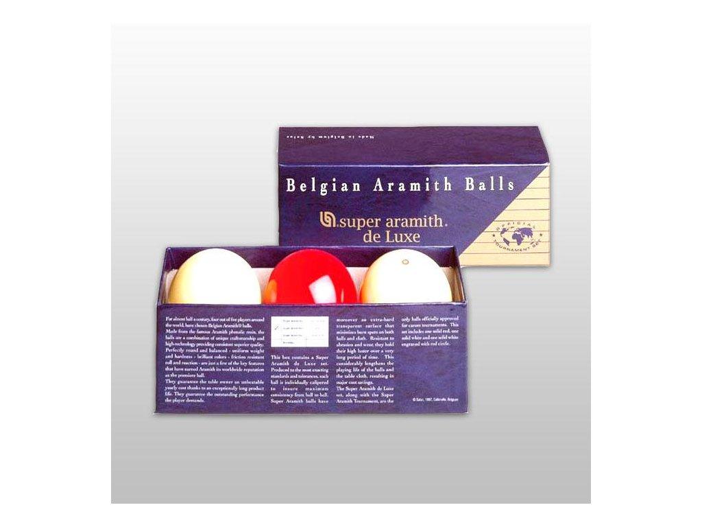 Aramith Karambol Super Deluxe, 61,5 mm, 3 ks
