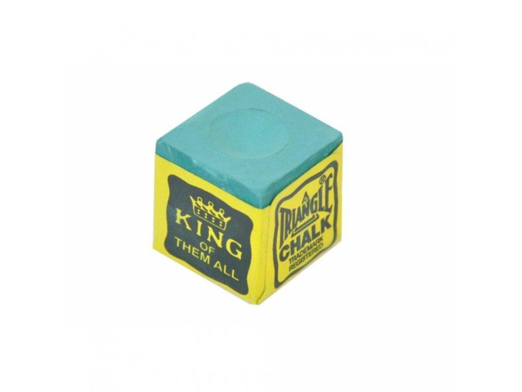 Kulečníková křída Triangle 1 ks, zelená