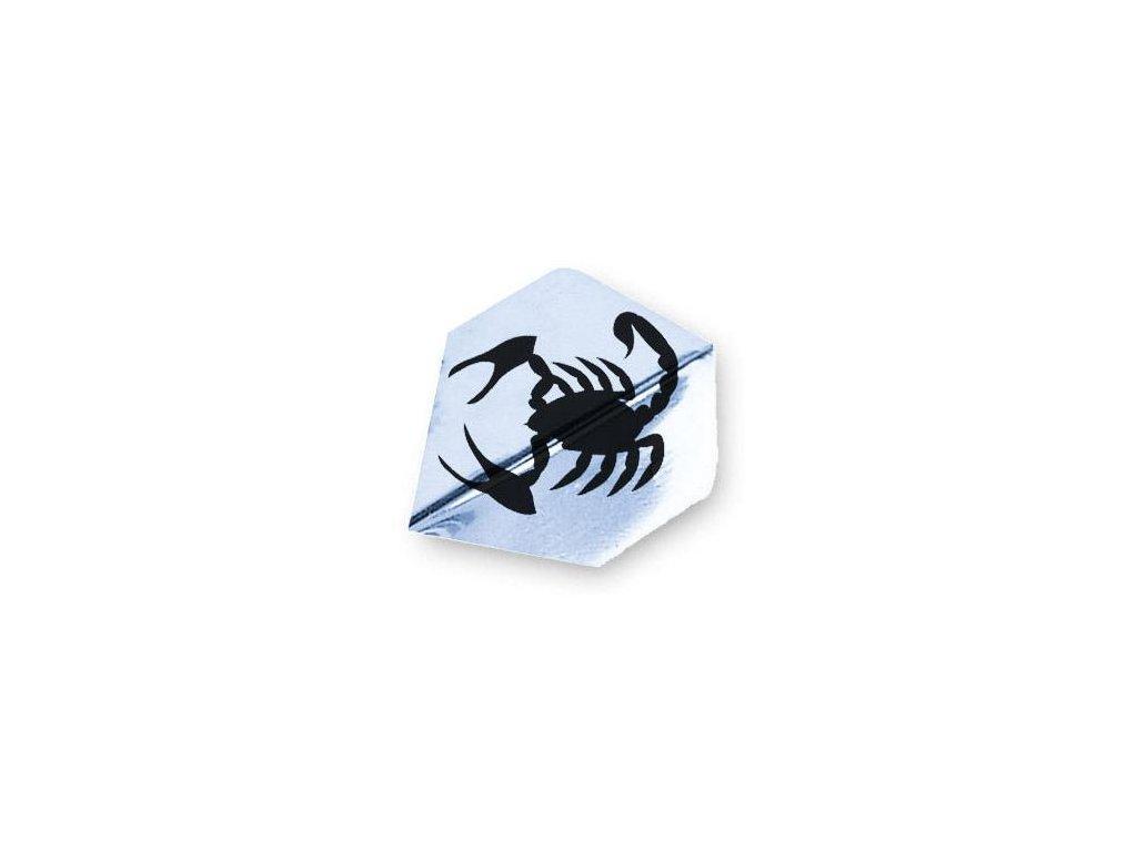 Letky na šípky Unicorn Metallic Polyflite p. Scorpion