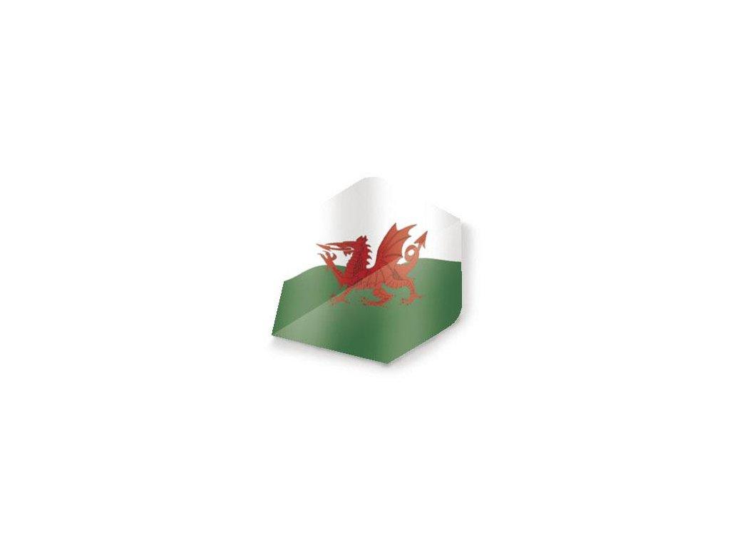 Letky na šípky Unicorn Maestro (P) Welsh standard