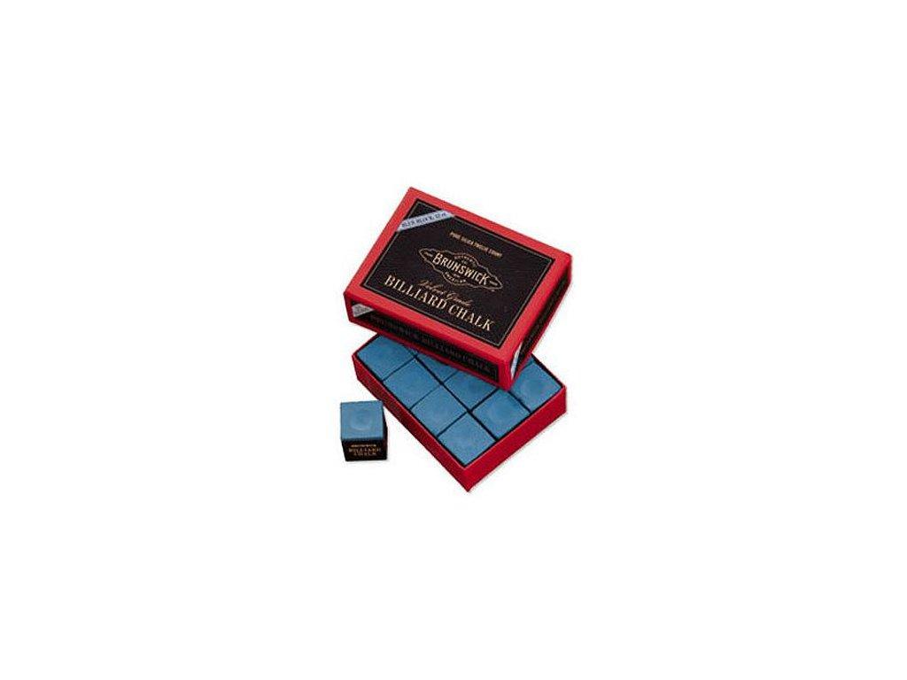 Kulečníková křída Gold Crown Brunswick modrá, 1ks