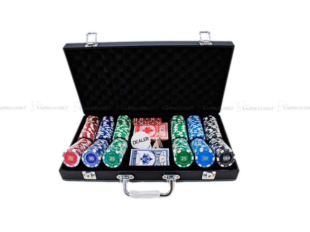 Poker sada Buffalo DeLuxe 300ks, kožený kufrík