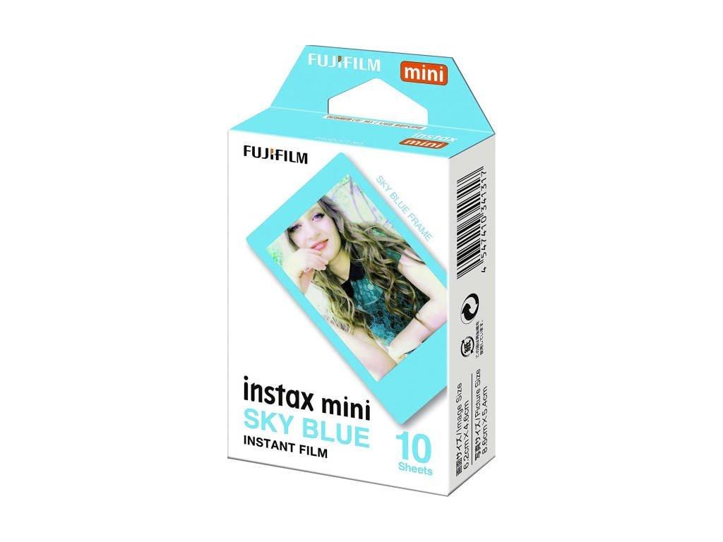 Instantní film Fujifilm Instax mini BLUE FRAME 10 fotografií