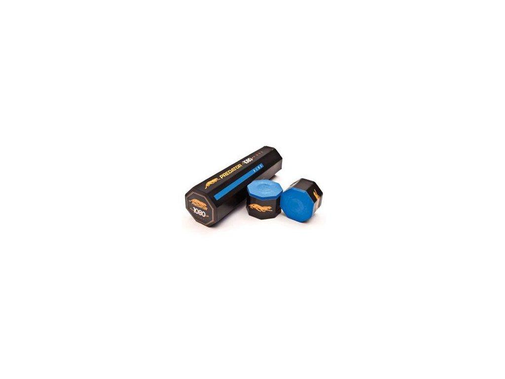 Kulečníková křída Predator 1080, 5ks, modrá
