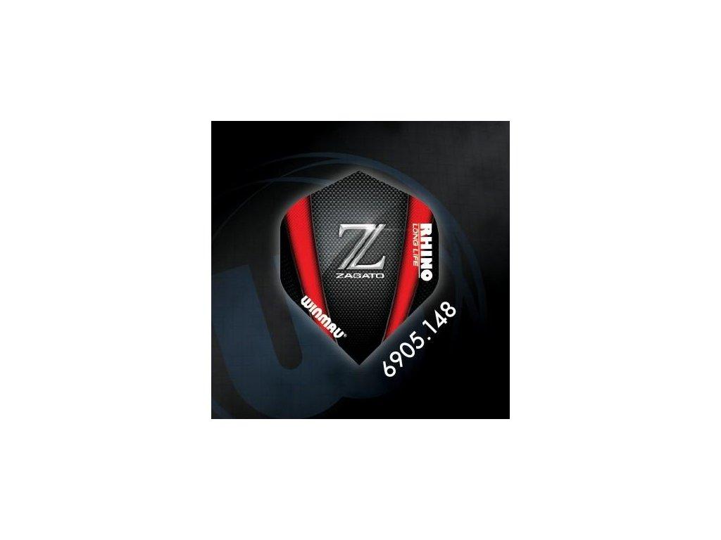 Letky na šípky Winmau RHINO extra hrubé ZAGATO