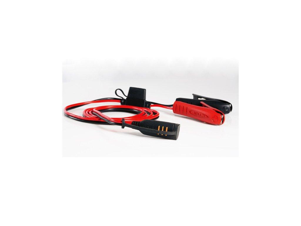 Konektor CTEK komfort krokosvorky (clamp) s indikací stavu nabití baterie