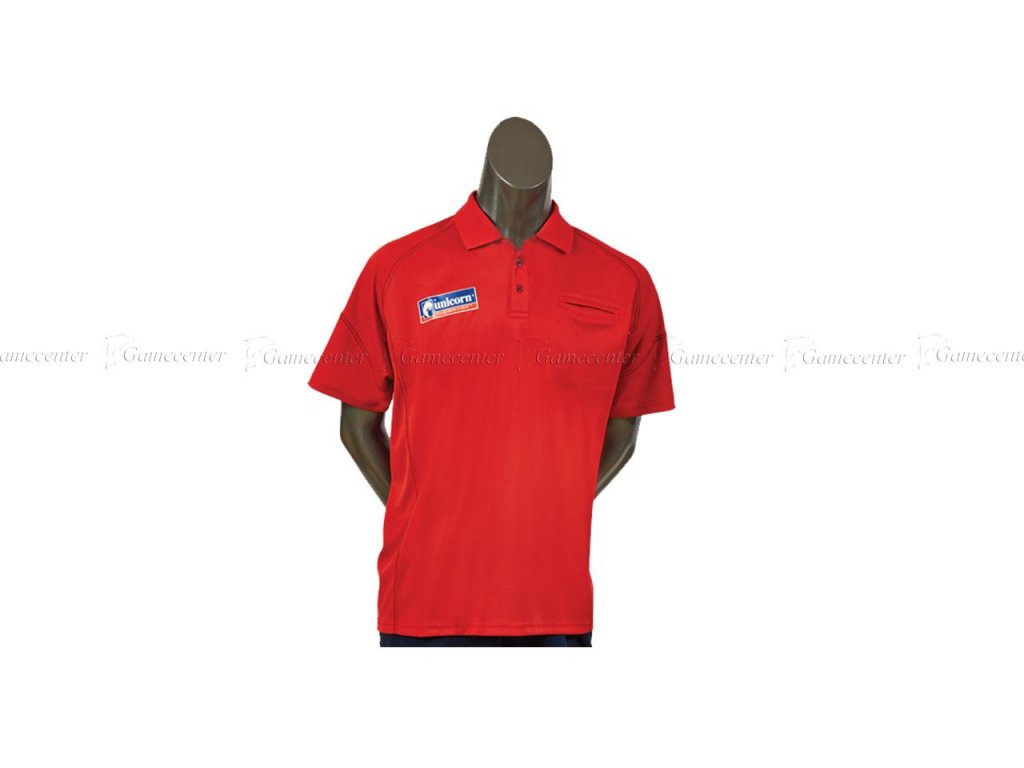 Košeľa Unicorn Team červená, veľkosť XL