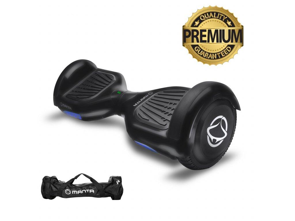 """Manta HoverBoard scooter 6,5"""" 2x350W VIPER černá MSB001  + taška zdarma"""