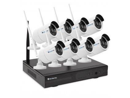 Securia Pro WIFI set 1MPx WIFI8CHV1-W  + LED pásek zdarma