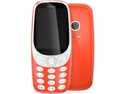 Mobilní telefon Nokia 3310 (2017) Dual SIM, červený
