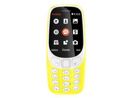 Mobilní telefon Nokia 3310 (2017) Dual SIM, žlutý