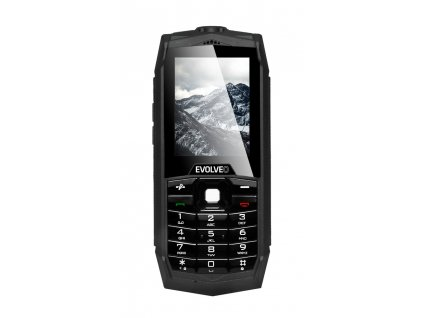 Mobilní telefon Evolveo StrongPhone Z1, vodotěsný odolný Dual SIM telefon