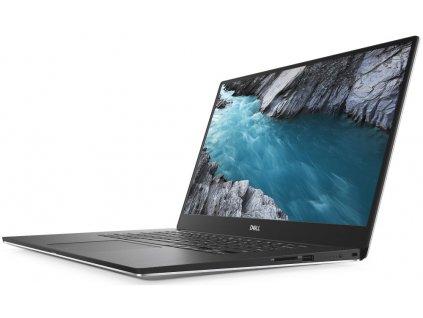 "Notebook Dell XPS 15 (7590) 15.6"" UHD, i7-9750H, 16GB, 1TB SSD, NV GTX 1650 4GB, FPR, W10 Pro, stříbrný, 3YNBD"