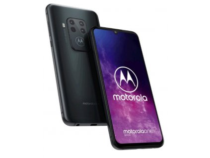 "Mobilní telefon Motorola Moto One Zoom 6,4"", 4GB, 128GB, Andr., Electric Grey"