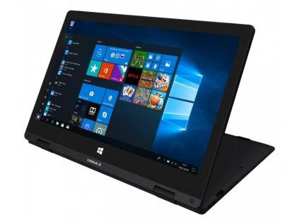 "Notebook Umax VisionBook 12Wa Flex 11.6"" 2in1 FHD, N3550, 4GB, 64GB + volný slot m.2 SSD 2242, W10, černý"