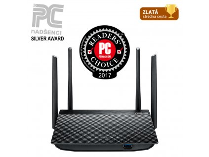 WiFi router Asus RT-AC58U V2 AP, AC1300, 4xGLan, 1xGWan, USB
