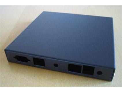 Montážní krabice PC Engines pro ALIX.2D2 a 6E2 (2x LAN, 1x USB, 1x rev. sma