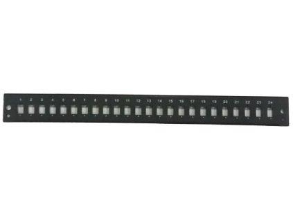 Panel 24xSC pro 19' Optická vana černá