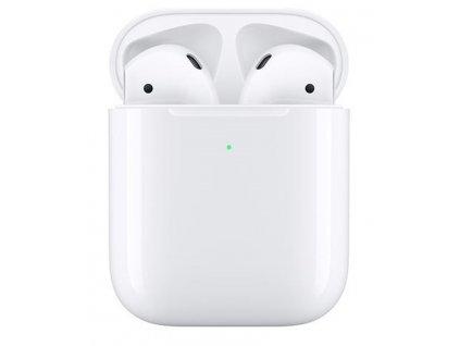 Sluchátka Apple AirPods , nabíjecí pouzdro (2019) - rozbaleno