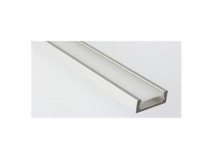 Hliníkový profil Prowax MICRO - ALU neanodizovaný, bez difuzoru - 1m