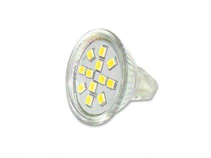 Žárovka Lumenmax LED SMB05 WW MR11, 12 V, 1,9 W, 190 lm, teplá bílá