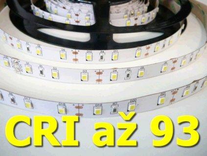 LED pásek TLE SMD 2835 60LED/m, 5m, teplá bílá, IP20, 12V, CRI 90