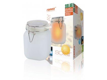 Solární osvětlení Ranex 1002988 zahradní