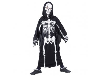 Karnevalový kostým Kostra 110 - 120cm