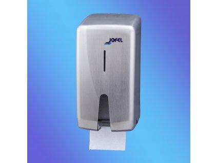 Zásobník Jofel Futura na konvenční toaletní papír nerez, na 2 role