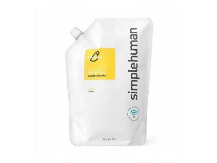 Tekuté mýdlo Simplehuman hydratační, 1 litr náhradní náplň s vůní citrusů