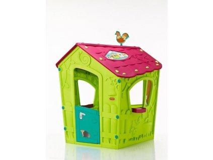 Zahradní domek Keter Magic Play House zelený, 2. jakost