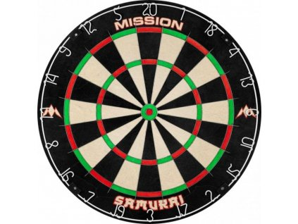 Sisalový terč Mission Samurai, turnajová kvalita
