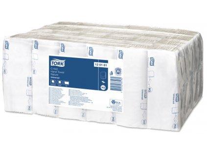 Ručníky Tork Universal H3 papírové skládané C-fold, béžové, 24x192ks