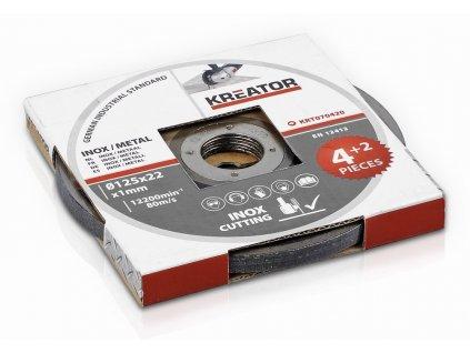 Řezný kotouč Kreator KRT070420 125mm, 6ks