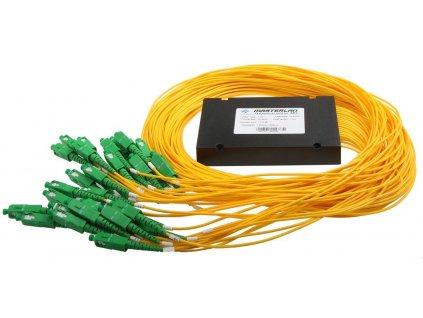 Splitter PLC optický -1x32, 1260-1650nm, ABS box, SC/APC, 1,5m