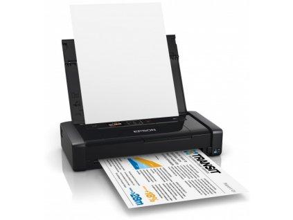 Tiskárna Epson WorkForce WF-100W A4, USB, NET, WiFi - přenosná