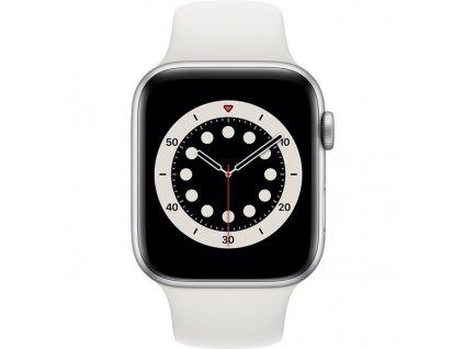 Hodinky Apple Watch Series 6, 44 mm, Stříbrný hliník