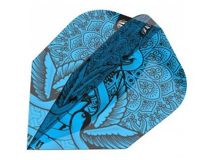 Letky na šipky Target INK PRO ULTRA TEN-X 2020, modré
