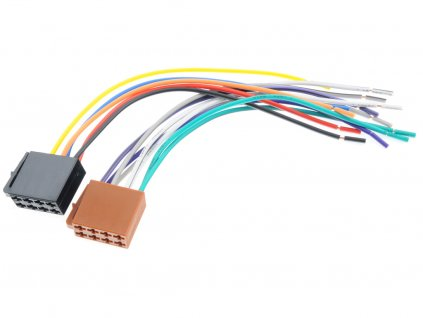 Kabel Hama ISO konektor 2x zásuvka (napájecí + repro)