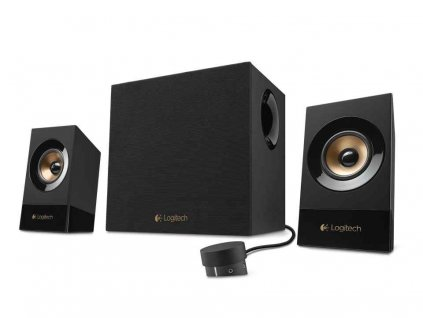 Repro Logitech Speaker Z533 3.5mm, 120W (60W RMS), černá