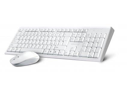 Set klávesnice + myš Connect IT Combo bílá klávesnice + myš, CZ + SK layout