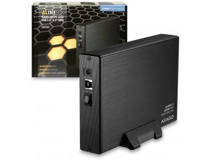 """Externí box Axago USB3.0 - SATA 3.5"""" externí ALINE box"""