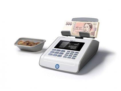 Počítačka bankovek Safescan 6185 šedá (bankovky i mince)