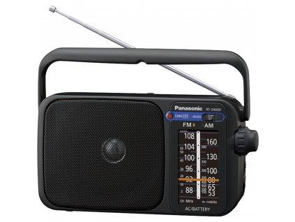 Rádio Panasonic RF 2400DEG-K černé