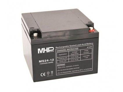 Baterie MHPower MS24-12 VRLA AGM 12V/24Ah