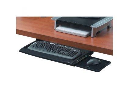 Držák Fellowes na klávesnici a myš Office Suites zasunovací pod stůl, výškově nastavitelný