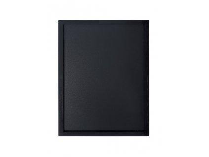 Tabule Securit WOODY nástěnná na popis křídou 40x60cm, Black + popisovač