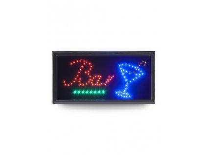 "LED tabule Securit LED SIGNS ""BAR"" s plastovým rámem"