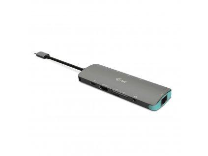 Dokovací stanice i-Tec USB-C Metal Nano 4K HDMI LAN + Power Delivery 100W